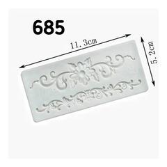 0685 Молд силиконовый. Орнамент мелкий.