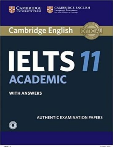 Cambridge IELTS 11 Academic Students Book with Answers with Audio