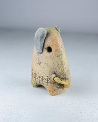 Скульптура из шамотной глины «Слон-мама», 14х11 см, Falco Ceramic