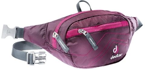 Картинка сумка поясная Deuter Belt I aubergine-magenta - 1