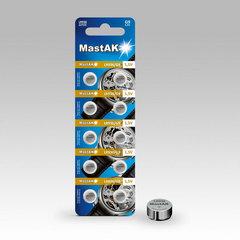 Батарейки MastAk AG 9 (394, LR936) 10 BL