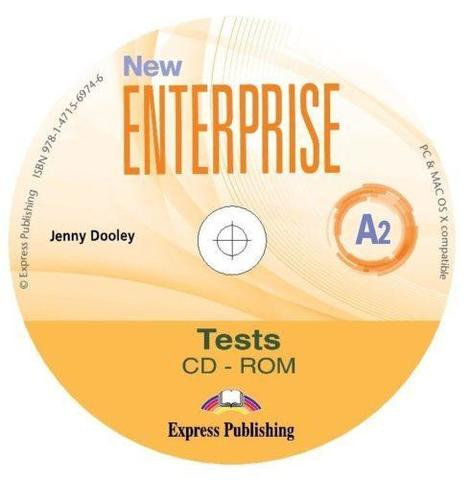NEW ENTERPRISE 2 TEST CD-ROM