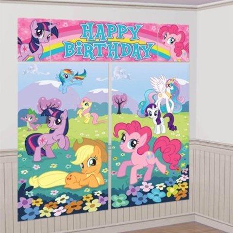 Декорация My Little Pony 165x190см/A