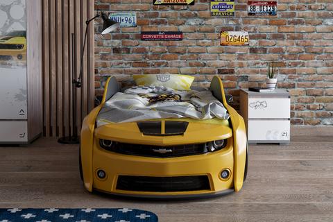 Кровать-машинка объемная (3d) EVO КАМАРО
