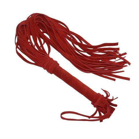 Красная плеть «Королевский велюр» - 65 см.