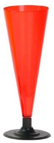Одноразовый Фужер для шампанского цветной