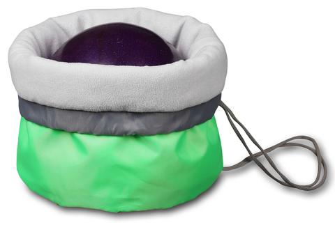 Чехол для мяча гимнастического утепленный INDIGO SM-335 Салатовый