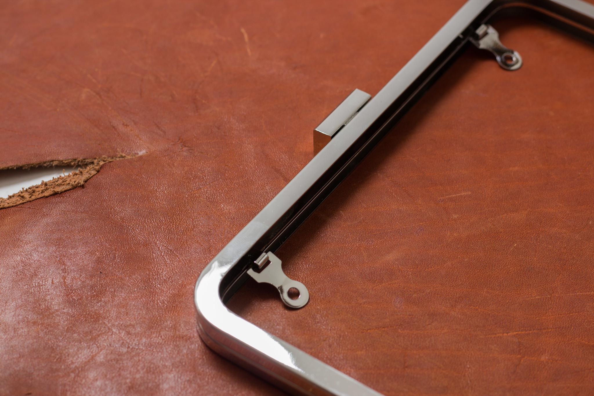 Фермуар 22х11 см - хром