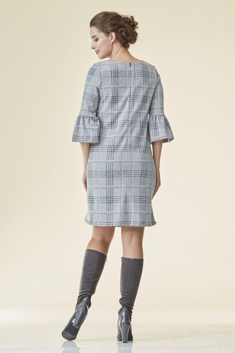 Фото платье для беременных Mama i Ja от магазина СкороМама, серый, розовый, клетка, размеры.