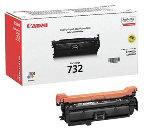 Картридж Canon Cartridge 732Y/6260B002