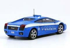 Lamborghini Gallardo Polizia Italy 1:43 DeAgostini World's Police Car #20