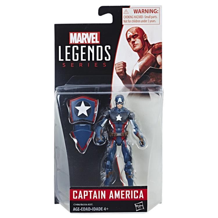 Фигурка Капитан Америка (Captain America) Marvel Legends 9,5 см