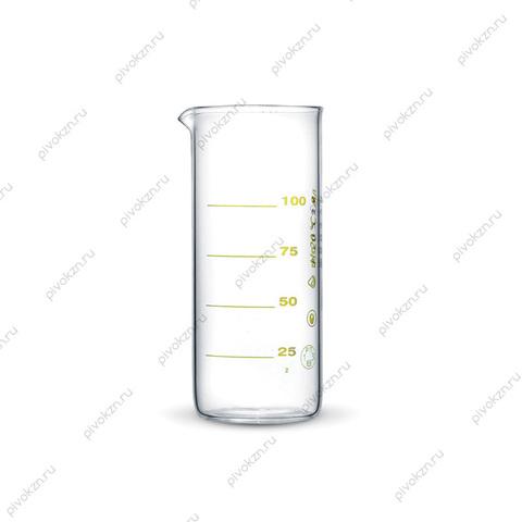 Стакан мерный 100 мл, стекло