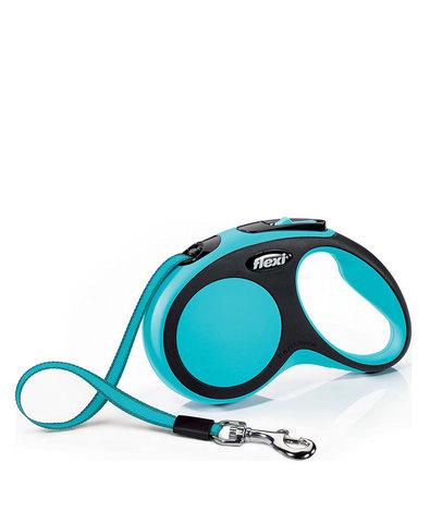Flexi поводок-рулетка XS, ремень 3 м на 12 кг (голубой)