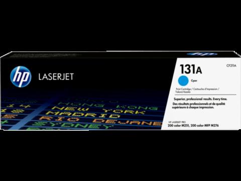 Оригинальный картридж HP CF211A (№131A), голубой