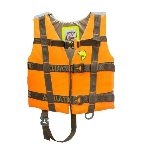 Жилет страховочный детский Aquatic ЖС-06ДО, размер 30-34, оранжевый