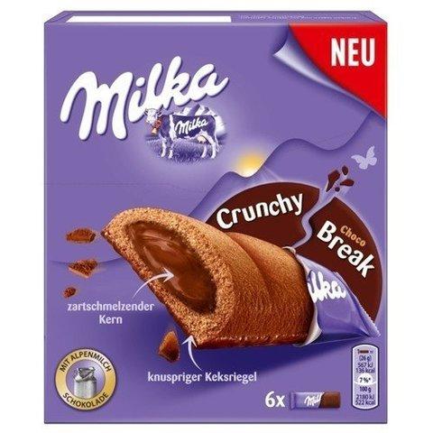 Бисквит Milka Crunchy Break Choc 156 гр