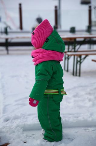 комбинезон детский зимний SASHA JUNIOR зеленый Грин