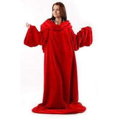 Одеяло - плед с рукавами