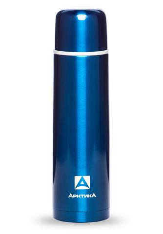 Термос Арктика (102-1000 синий) 1 литр с узким горлом классический, синий