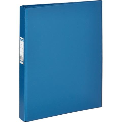 Папка на 4-х кольцах Bantex 35 мм синяя до 250 листов