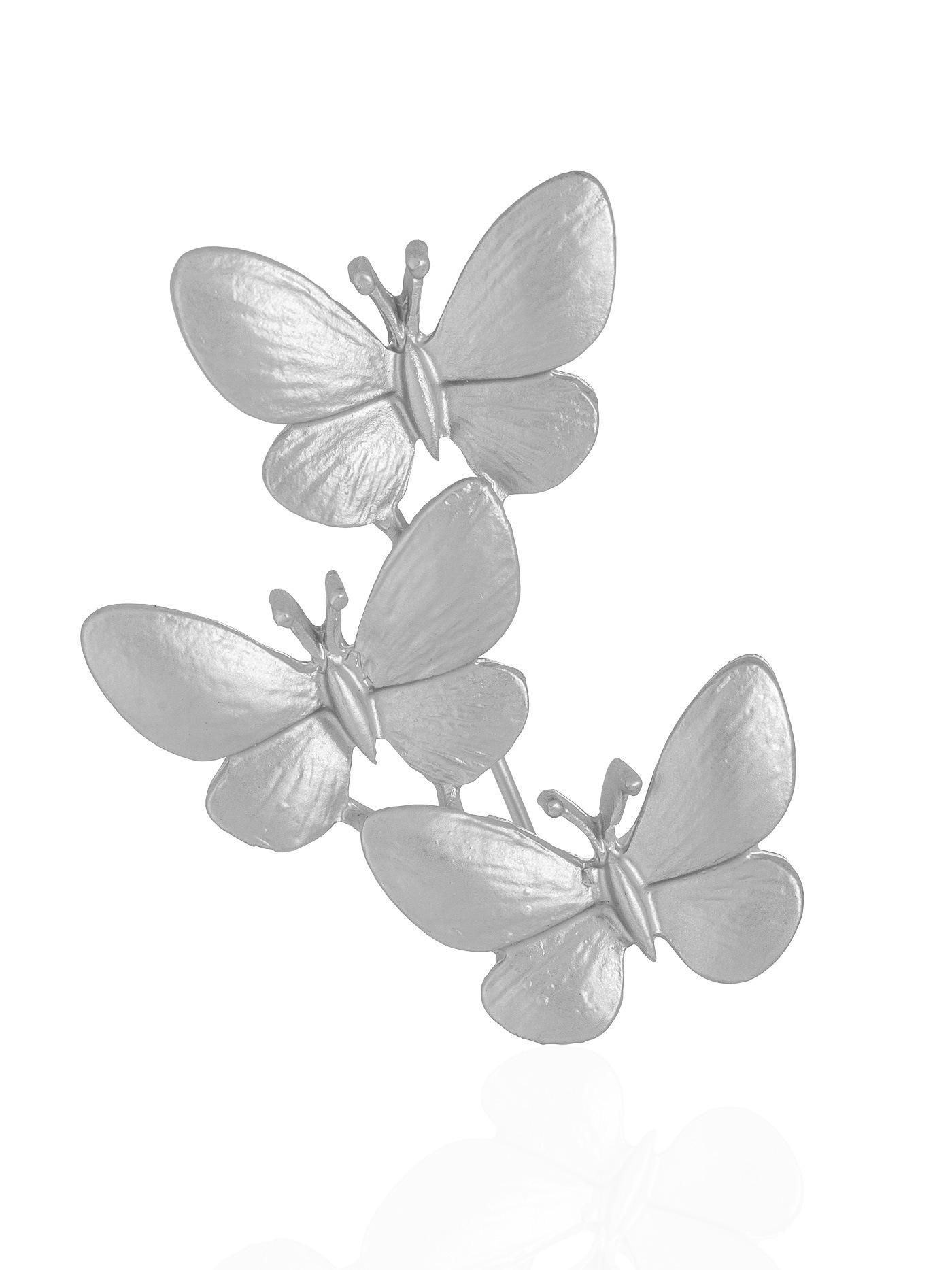 Брошь с бабочками в подарочной коробке