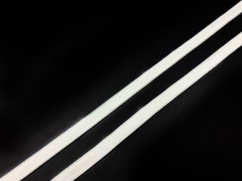 Ворсовая тесьма под каркасы белая (цв. 001) 50 метров