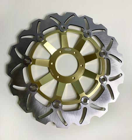 Передние тормозные диски ARASHI для Honda CBR F4 99-00, VFR 800 98-08, XL1000V
