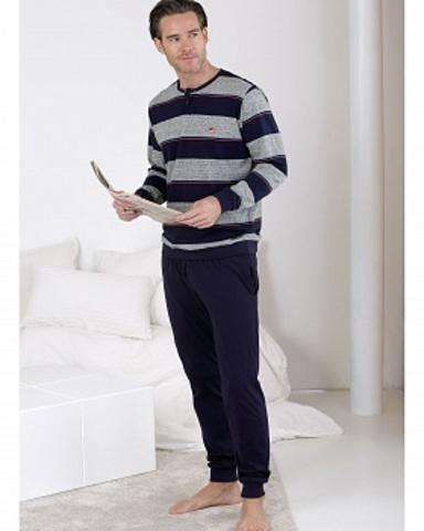 Пижама мужская со штанами Massana MP_711309 3XL