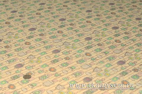 Сетка-стрейч принт 09-82-14036-02