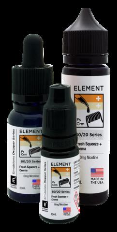 Жидкость Element 120 мл Fresh Squeeze + Crema