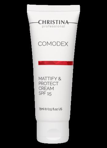 Сhristina Матирующий защитный крем SPF 15 | Comodex Mattify & Protect Cream SPF 15