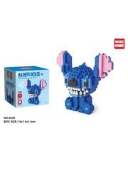 Конструктор Wisehawk & LNO радостный Стич 307 деталей NO. 2526 Stitch Mini blocks