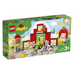 Lego konstruktor Duplo Barn, Tractor & Farm Animal Care