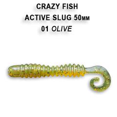 Силикон CRAZY FISH ACTIVE SLUG 2