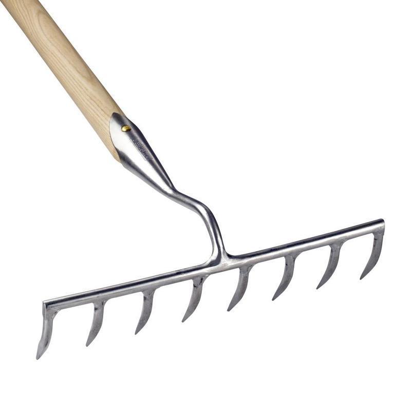 Садовые грабли Sneeboer 8 зубцов  155 см рукоятка