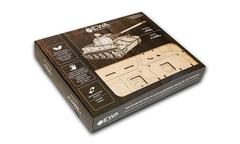 Конструктор деревянный 3D EWA Танк ЛЕВ