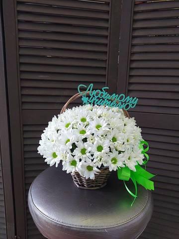 Цветы в корзинке  #78704