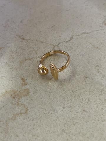 Кольцо Квиан, позолота