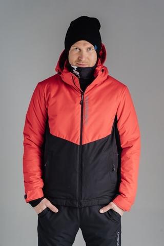 Утепленная лыжная куртка Nordski Montana Red/Black мужская
