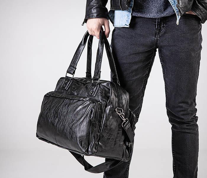 BAG553 Вместительная сумка для поездок с длинными ручками фото 02