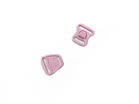 Крючок-застежка для бюстгальтера для кормящих мам розовая 15 мм