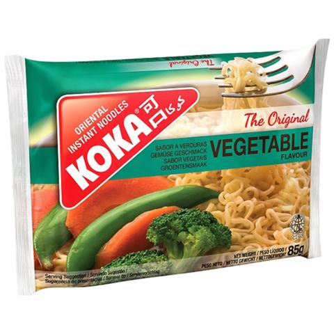 Лапша с овощами Original в пакете KOKA, 85г