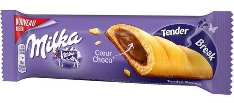 Бисквит Milka Tender Break White 26 гр