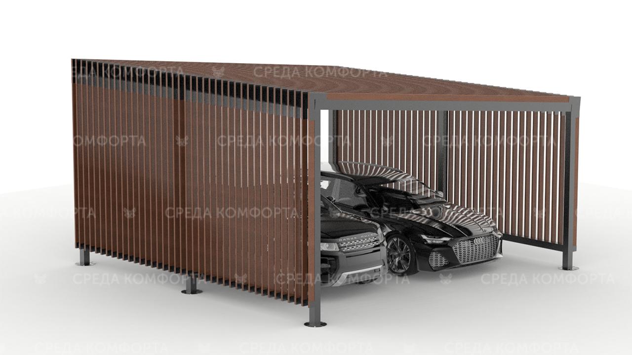 Навес металлический AVNVS0032