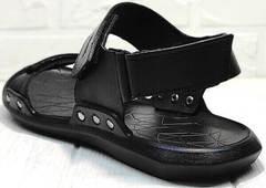 Мужские спортивные сандали босоножки с ремешками Zlett 7083 Black