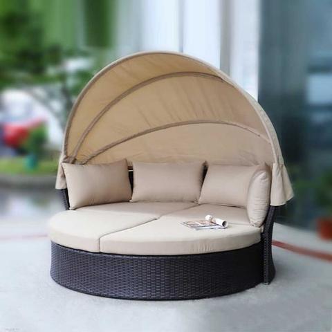 Комплект мебели из искусственного ротанга AFM-325B Brown МРК