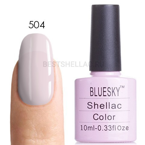 Bluesky Shellac 40501/80501 Гель-лак Bluesky № 40504/80504 (LV009) Romantique, 10 мл 504.jpg