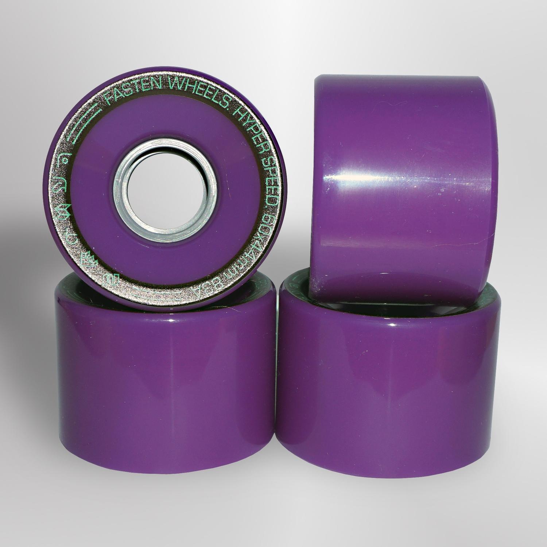 Колёса для скейтборда FASTEN Hyperspeed 83A (Purple)