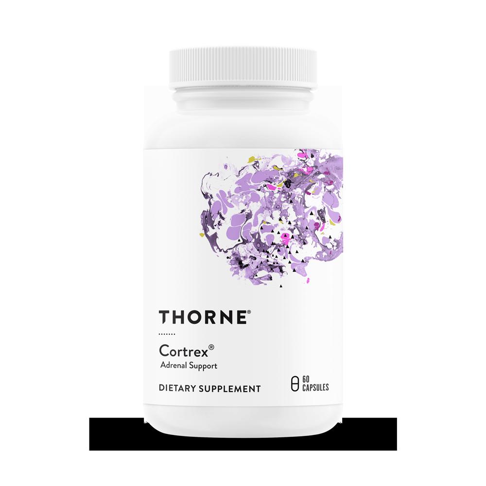 Комплекс для надпочечников, Cortrex, Thorne Research, (60 капсул)